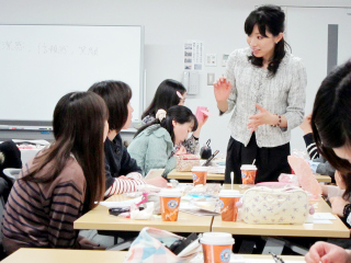 日本郵政グループ労働組合様メイク講習風景