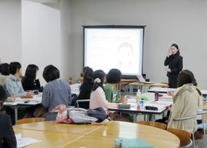 名古屋大学AOKI就職活動メイクセミナー4