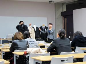 関西外国語大学AOKI就活メイクセミナー4