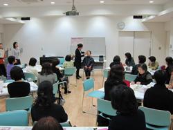 新宿区四谷保健センターメイクセミナー1